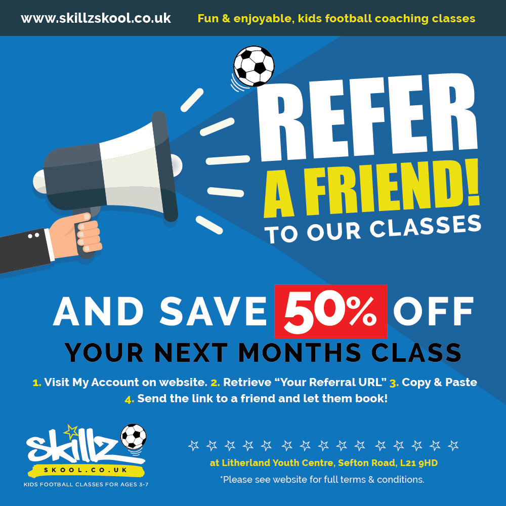 Refer a Friend Scheme!