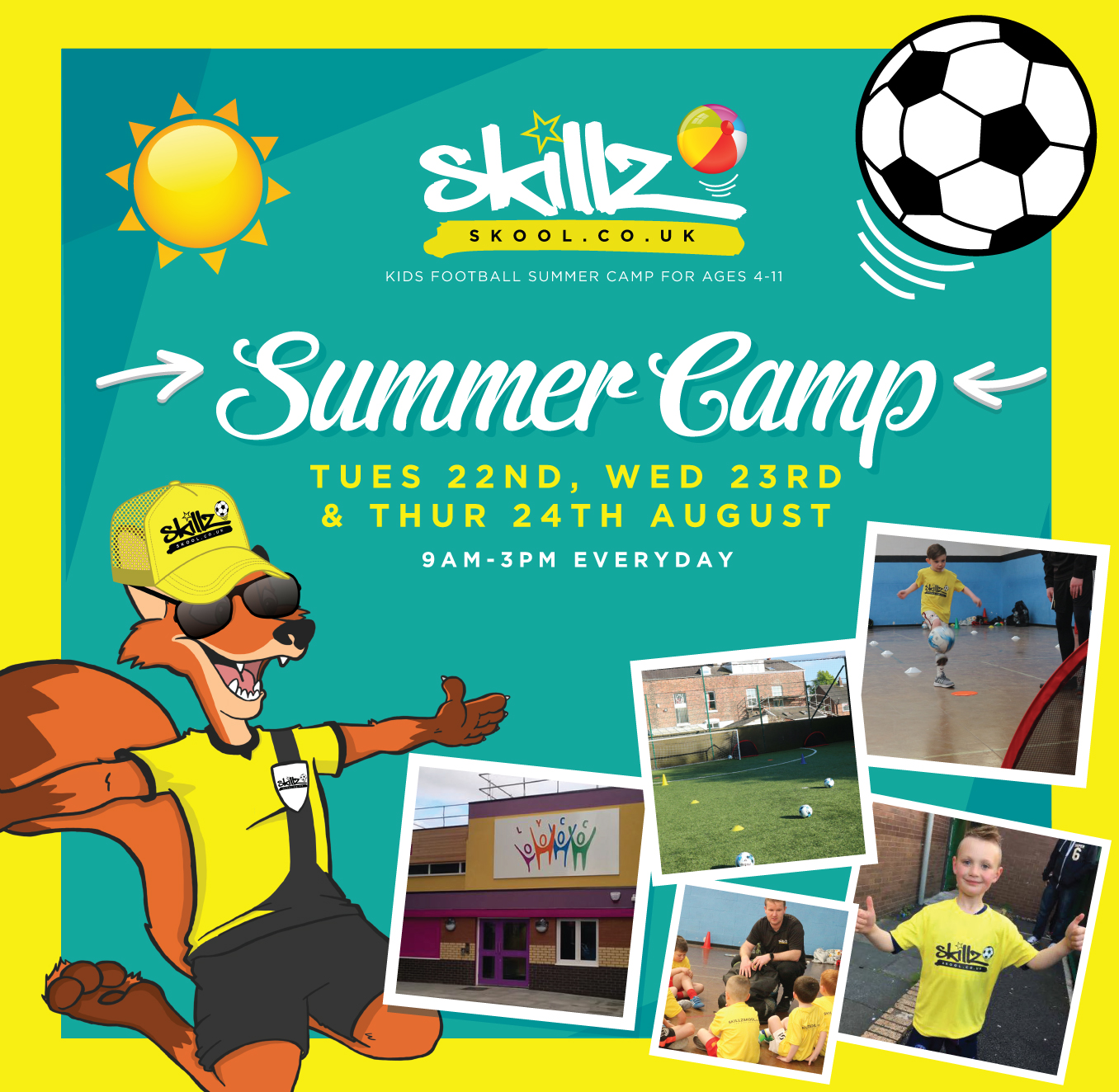 Summer Camp, Litherland for Kids Aged 4-11